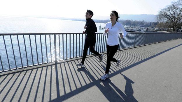 Die Luft wird wärmer, die Joggingrunden wieder länger.