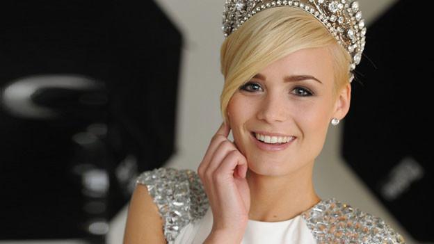 Die neue Miss Schweiz Dominique Rinderknecht.