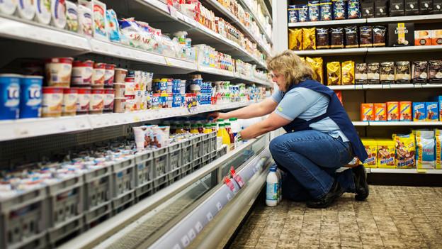 Milchtüten in Reih und Glied ordnen - ein Grund zum Jammern?