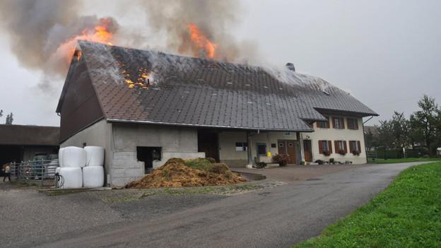 In Grünwil treibt ein Brandstifter sein Unwesen. Maloney ermittelt.