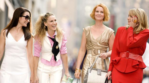 Shopping wurde unter anderem durch Fernsehserien wie «Sex & the City» zum Massenzeitvertreib – für arm und reich.