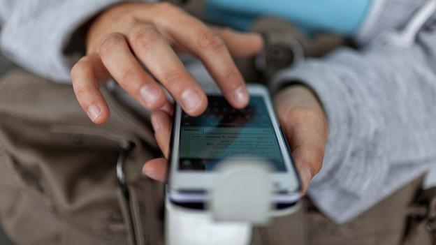 SMS-Schreiben gehört heute zum täglichen Brot.