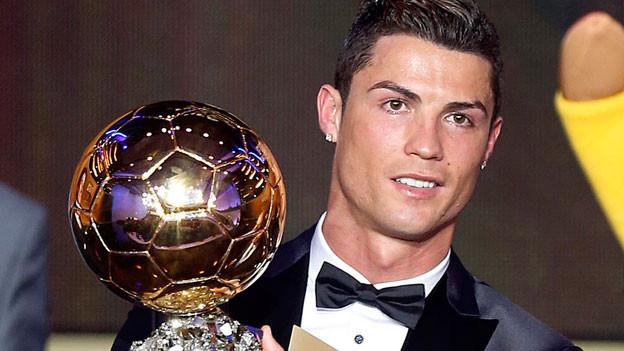Cristiano Ronaldo, Weltfussballer des Jahres 2013.