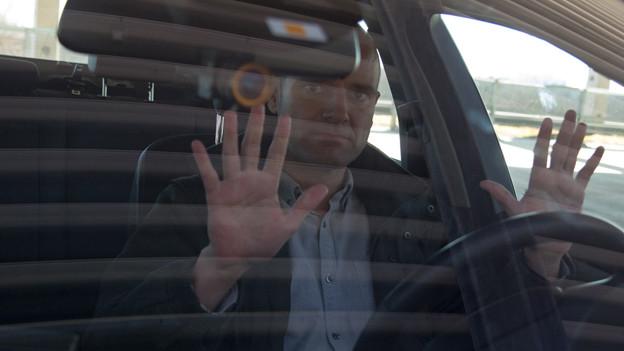 Reto Widmer testet Autos, die selber fahren.