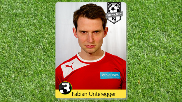 Fabian Unteregger im Fussballfieber.