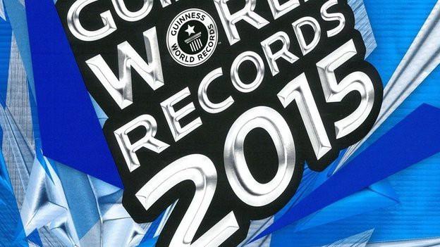 Cover Guinness Buch der Rekorde