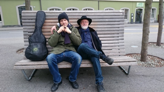 Pascal Gamboni und Luis Coray.