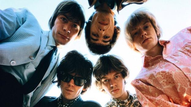 Die Rolling Stones in den 60er-Jahren.