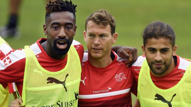 Die Schweizer Fussball-Nati trifft in Basel auf Portugal.