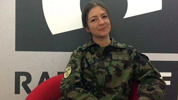 Hauptmann Sarah Brunner.