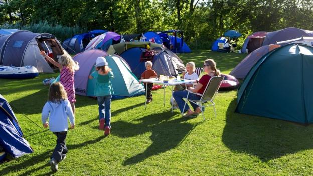 Wer haftet wenn Kinder auf dem Campingplatz etwas kaputt machen?