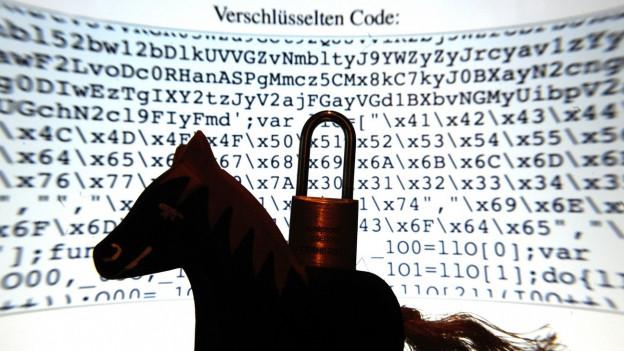 Trojaner schleichen sich oft unbemerkt auf den Computer.