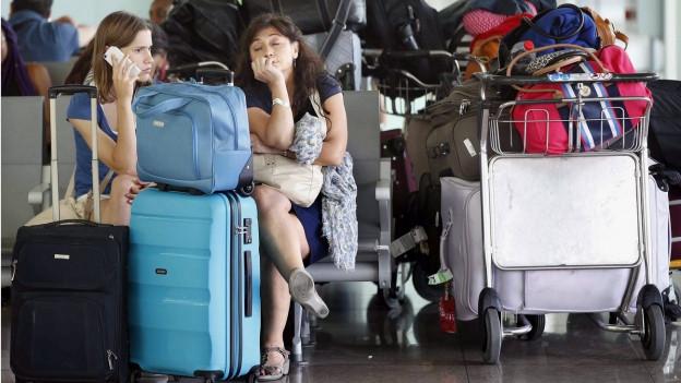 Wenn ein Flug gestrichen wird, kann's teuer kommen für den Passagier.