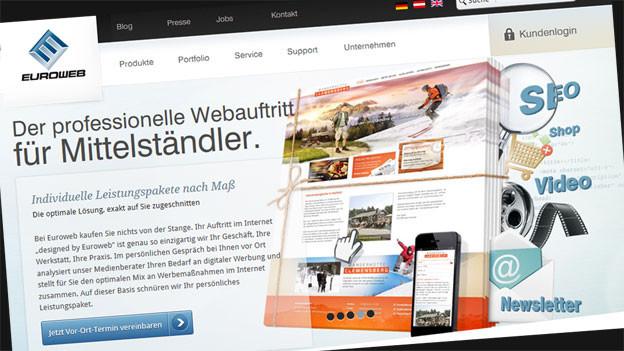 Euroweb geht mit umstrittenen Methoden auf Kundenfang.