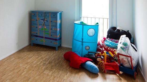 Wohnung mit Umzugs-Möbeln