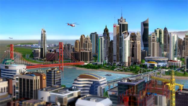 Dank der GlassBox-Engine sieht «SimCity» aus wie eine Miniaturlandschaft.