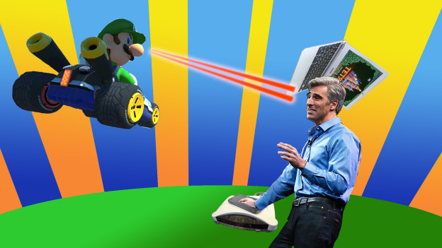 Mario zappt Craig