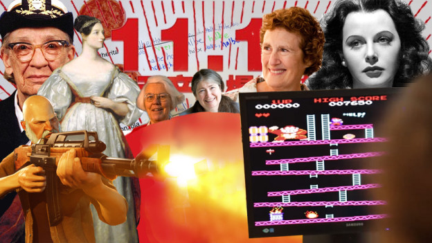 Heldinnen, Pixelspiele und Energy-Drinks.
