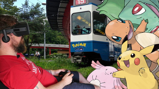 Catch 'em all am Bucheggplatz.