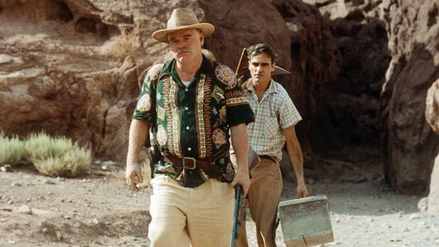 Der Meister (Philip Seymour Hoffman, links) und sein Schüler (Joaquin Phoenix).