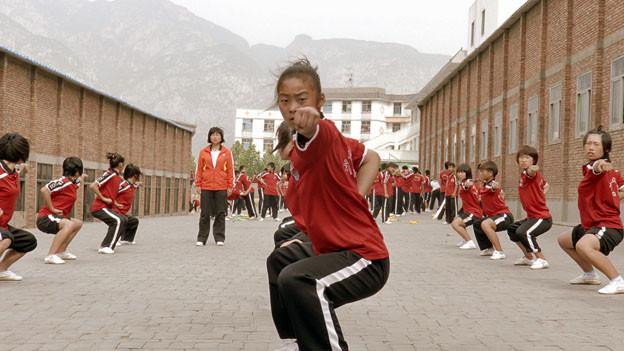 Chen Xi ist 15 und das einzige Mädchen, das im Film mal Tränen zeigt.
