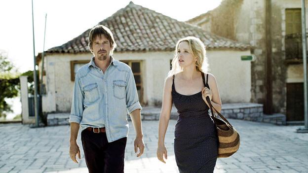 Ein Höhepunkt des Films: das Gespräch zwischen Jesse (Ethan Hawke) und Céline (Julie Delpy) während eines Spaziergangs.