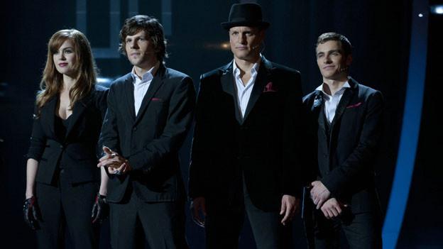 Die zaubernden «Four Horsemen»: Henley (Isla Fisher), Michael (Jesse Eisenberg), Merritt (Woody Harrelson) und Jack (Dave Franco).