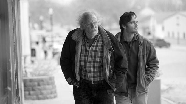 Bruce Dern brilliert als Woody Grant. Rechts Will Forte als sein Sohn David.