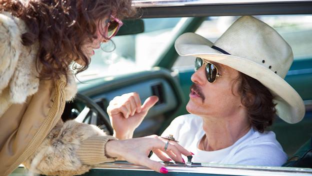 Matthew McConnaughey (rechts) und Jared Leto sind als Haupt- respektive Nebendarsteller für Oscars nominiert.