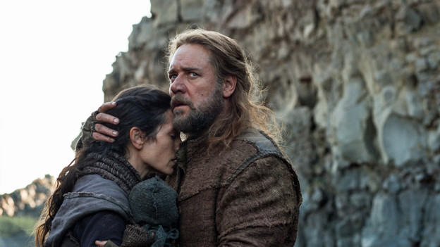 Russell Crowe und Jennifer Connelly als Noah und seine Frau Naameh.