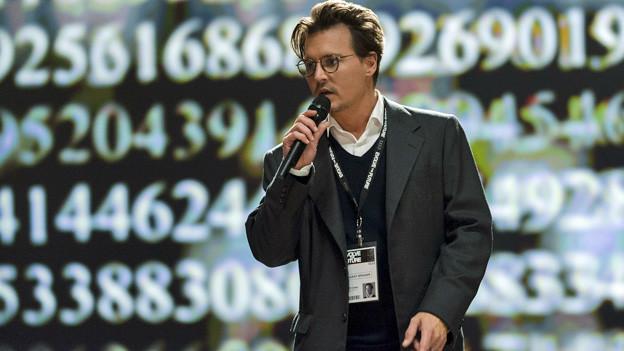Johnny Depp als Dr. Will Caster, Experte in Sachen Künstliche Intelligenz.
