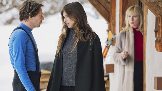 Was läuft zwischen Marc (Mathieu Almaric) und Anna (Maïwenn, Mitte) und seiner Schwester Marianne (Karin Viard)?