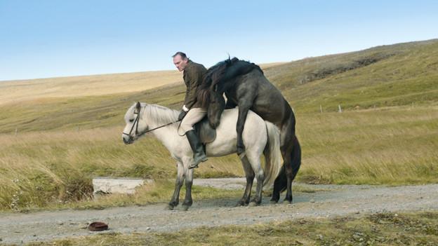 Eines der Bilder aus «Of Horses and Men», das man definitiv nicht mehr vergisst.