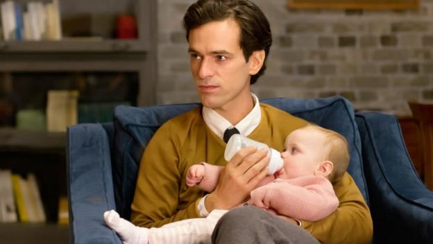 David (Romain Duris) will für sein Kind Vater und Mutter in einem sein.