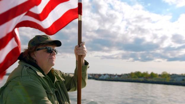 Statt Land, will Michael Moore in Europa gute Ideen erobern.