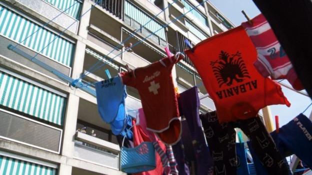 Menschen aus 42 Nationen leben im Burgdorfer Quartier Gyrischachen.