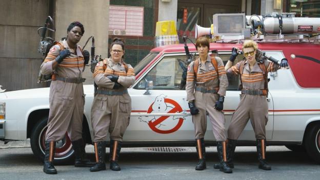 Die Neuen (von links): Leslie Jones, Melissa McCarthy, Kristen Wiig, und Kate McKinnon.