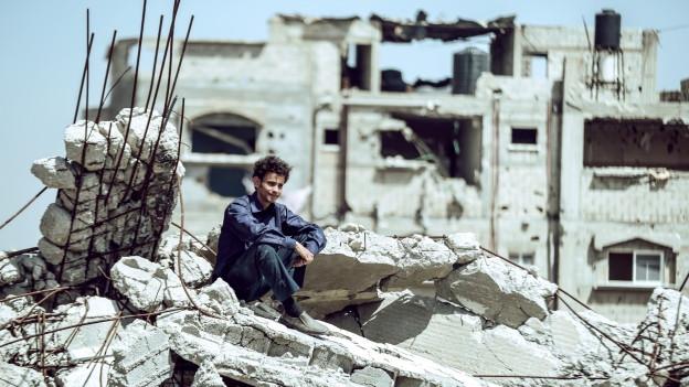Mohammed Assaf (Tawfeek Barhom) will weg vom Gazastreifen auf die Showbühne.