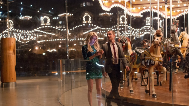 Vee (Emma Roberts) und Ian (Dave Franco) tun sich für das Online-Game «Nerve» zusammen.