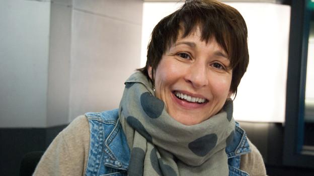 Sabine Reber erschien ohne grünen Daumen im Studio.