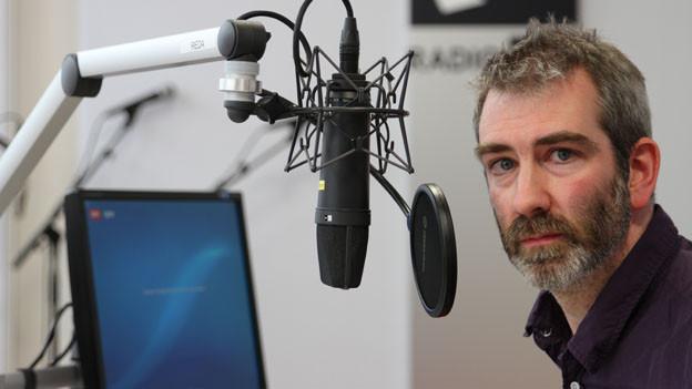Manuel Stahlberger im SRF 3 Studio