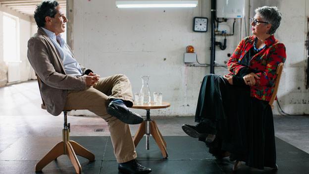 Medienpionier Roger Schawinski und Autorin Susanna Schwager