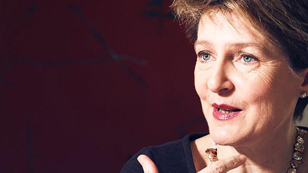 Bundespräsidentin Simonetta Sommaruga.