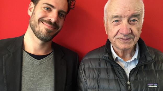 Tom Gisler (links) und Armin Mueller-Stahl.