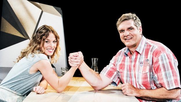 Anna Rossinelli und Werner Günthör