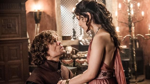 Sibel Kekilli in ihrer bekanntesten Rolle: Shae bei Game of Thrones, Parterin von Tyrion Lannister