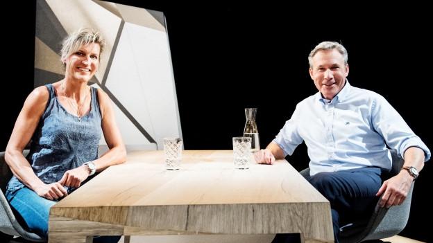 Evelyne Binsack und Adrian Amstutz