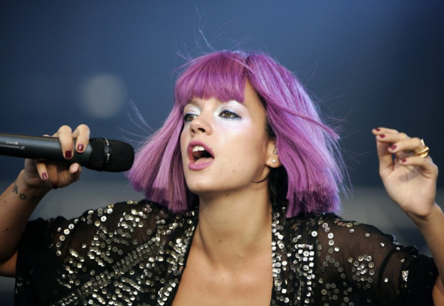 Lily Allen in ihrem Element