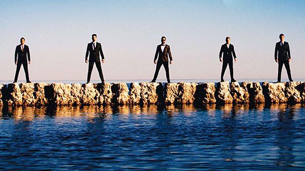 Backstreet Boys auf dem neuen Album-Cover.