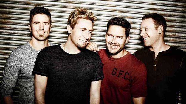 Gruppenbild der kanadischen Rockband Nickelback